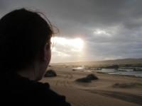 pohled na dunu