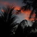Romanticky laděný západ slunce