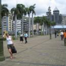Promenáda v hlavním městě Port Luis