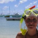 První pokus o šnorchlování