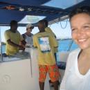 Posádka Coral Belle II - Bára mezi ně nepatří:-)