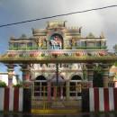 Hinduistický chrám kousek od hotelu