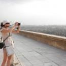 Káťa fotí Káhiru