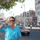 Já před hotelem v Hurghadě
